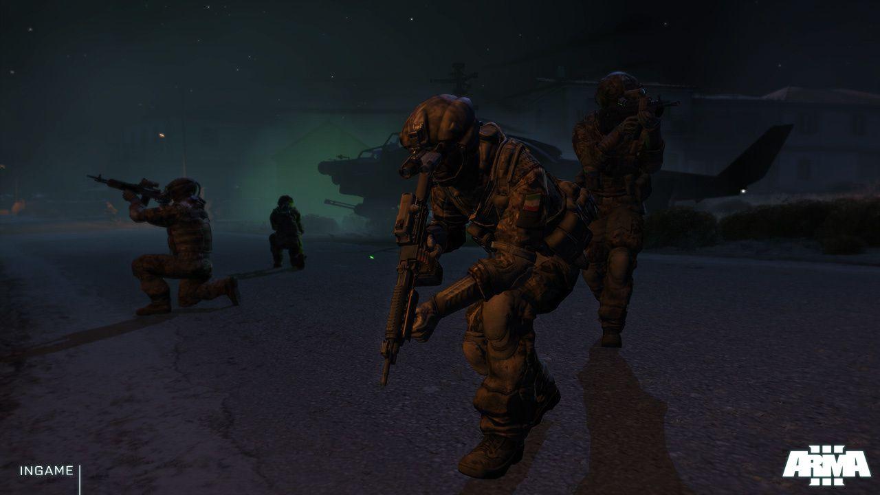 4 images pour Arma III et présentation à la Gamescom 2012