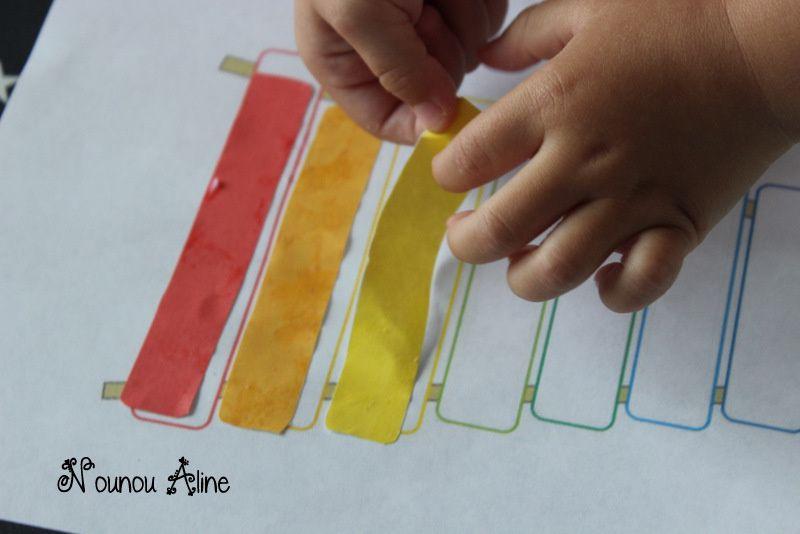 Un xylophone de toutes les couleurs !