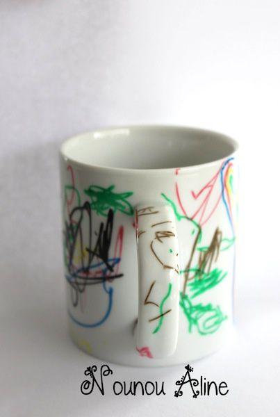 Souvent Une tasse pour l'anniversaire d'une maman - Nounou Aline IA74