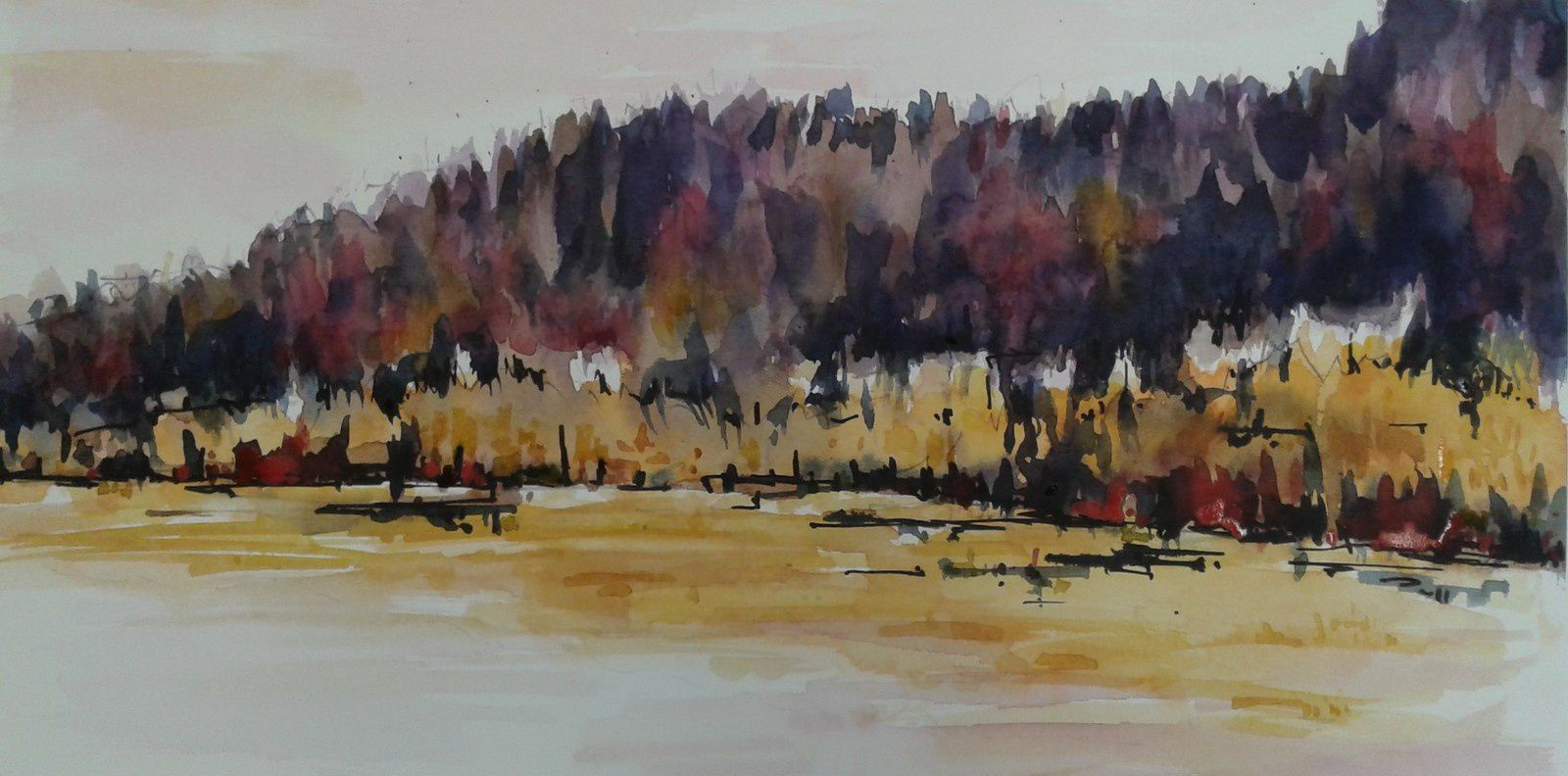 FORET  (30x45)