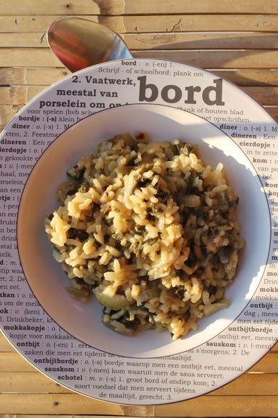 Besoin de réconfort : risotto à la sauge