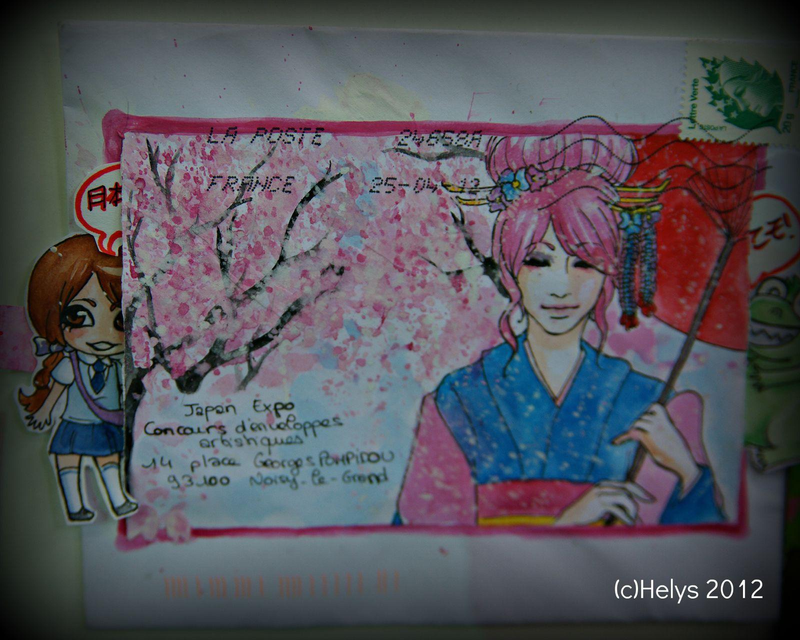 Japan expo 2012: Enveloppes artistiques 2/2