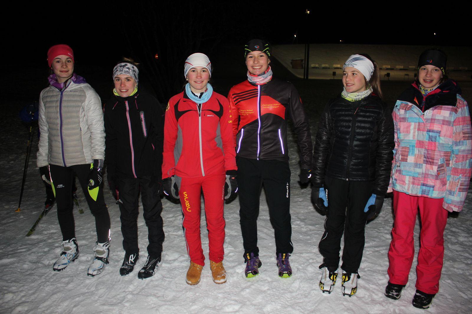 Team sprint aux Plans d'Hotonnes... résultats.