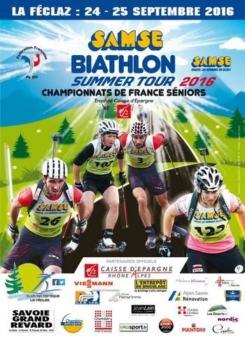 Summer tour Biathlon La Féclaz.