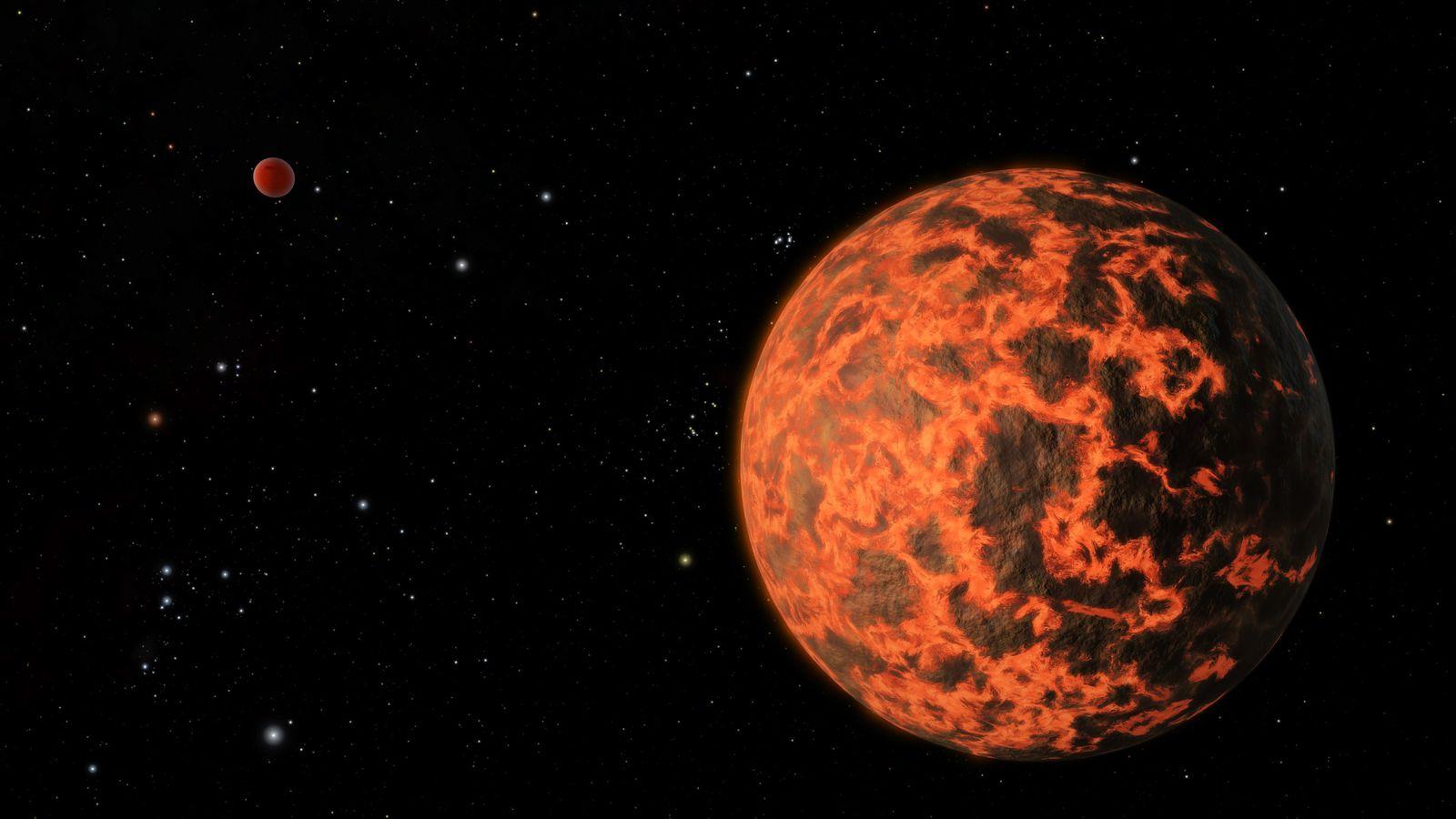 Rappresentazione artistica di come potrebbe apparire UCF-1.01 a un ipotetico osservatore. Cortesia: NASA/JPL-Caltech/R. Hurt (SSC)