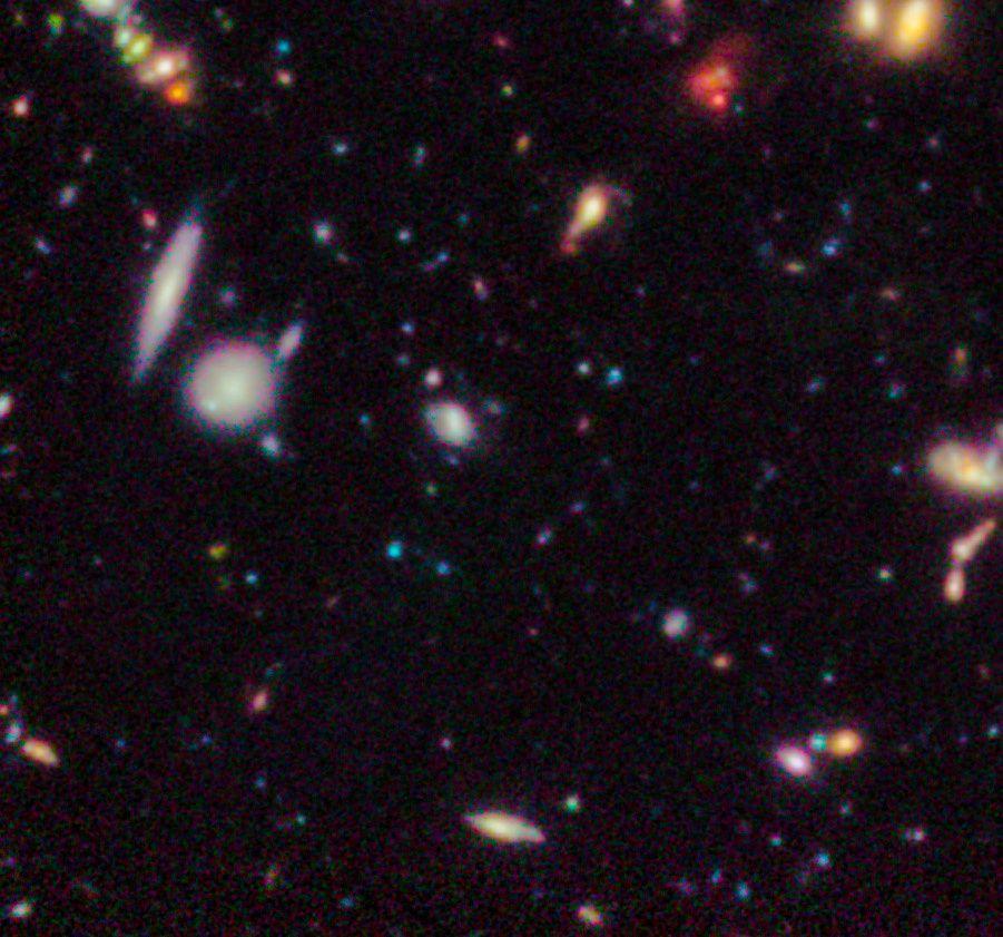 Hubble Ultra Deep Field 2012