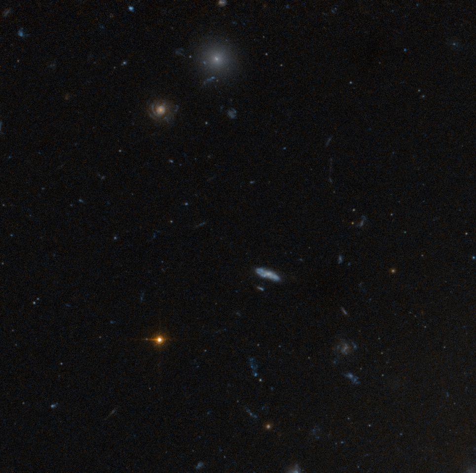 Cortesia: NASA, ESA, Michael West (ESO)