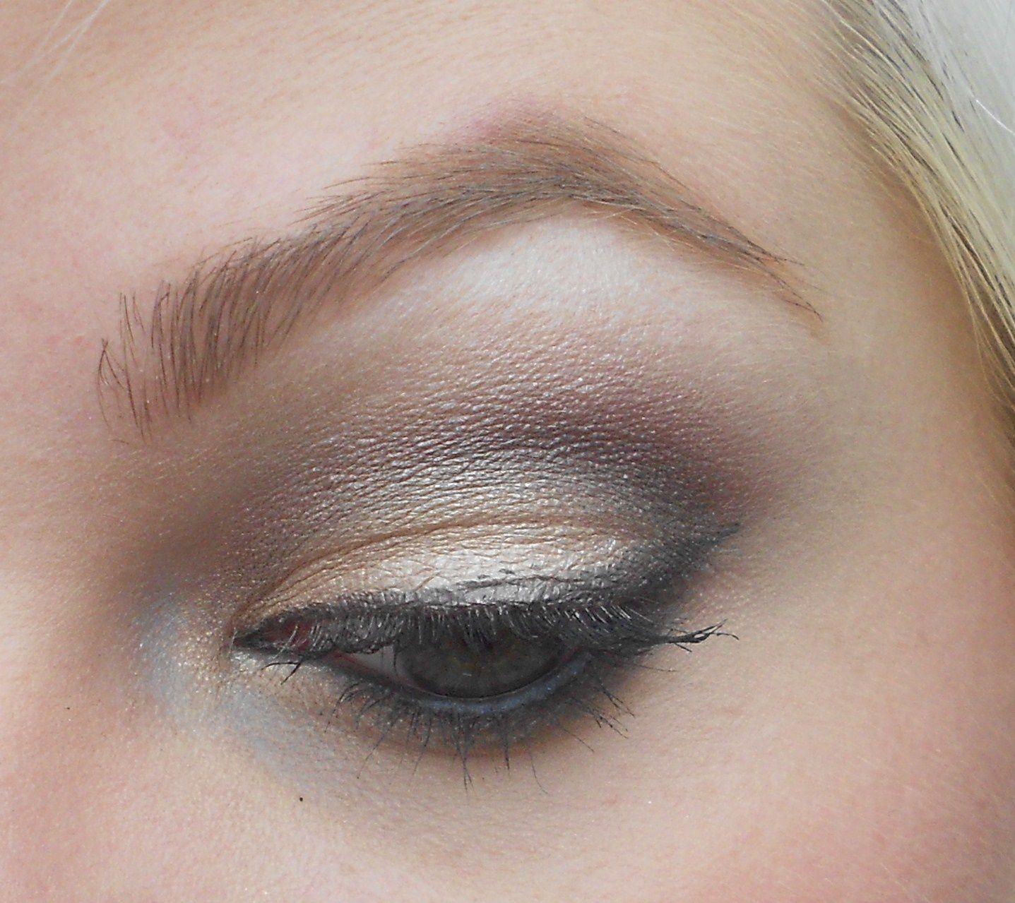 Tuto : Pigments Makeup Geek et Satin Taupe de MAC