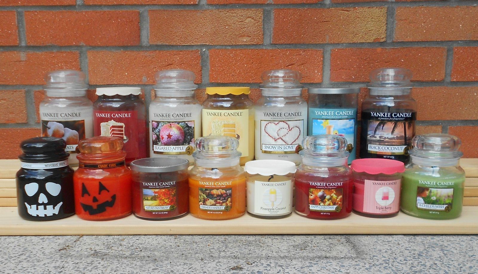 Mes Yankee Candle !!