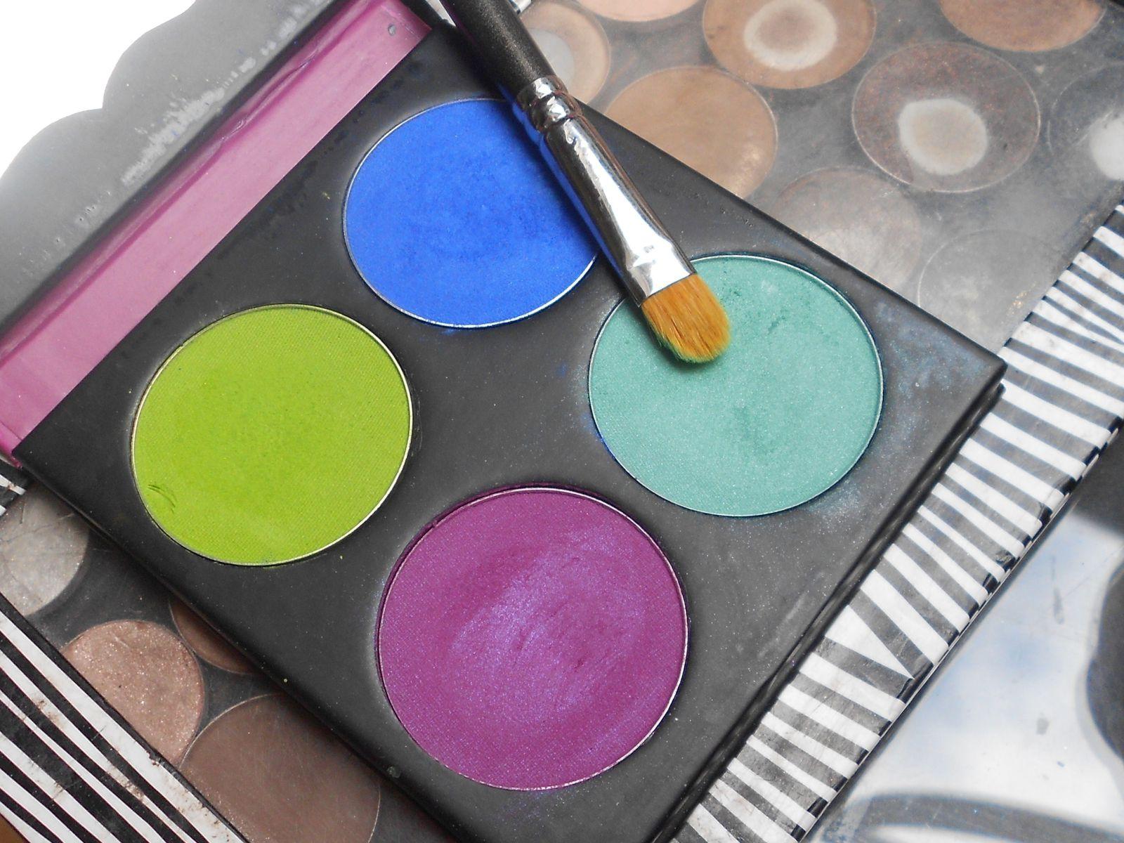 Tutot : Make-up haut en couleur !!