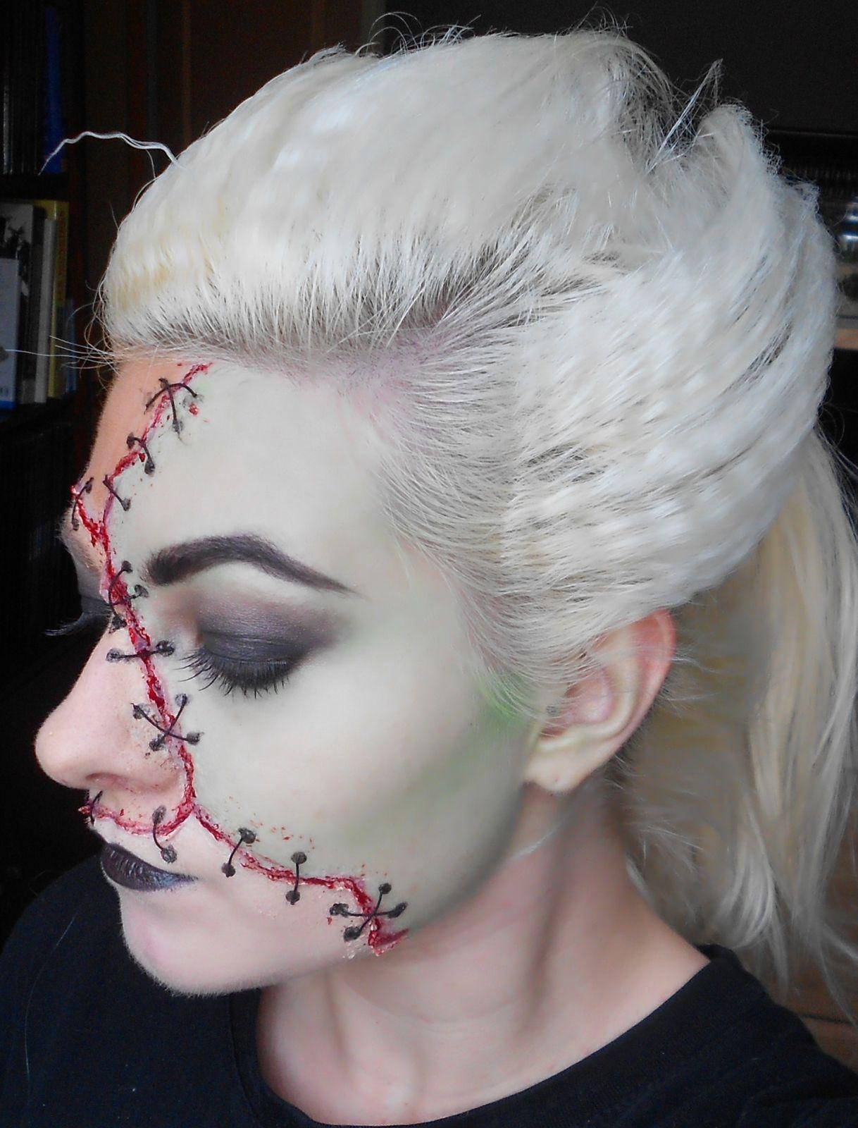 Halloween is coming : Miss Frankenstein !!!