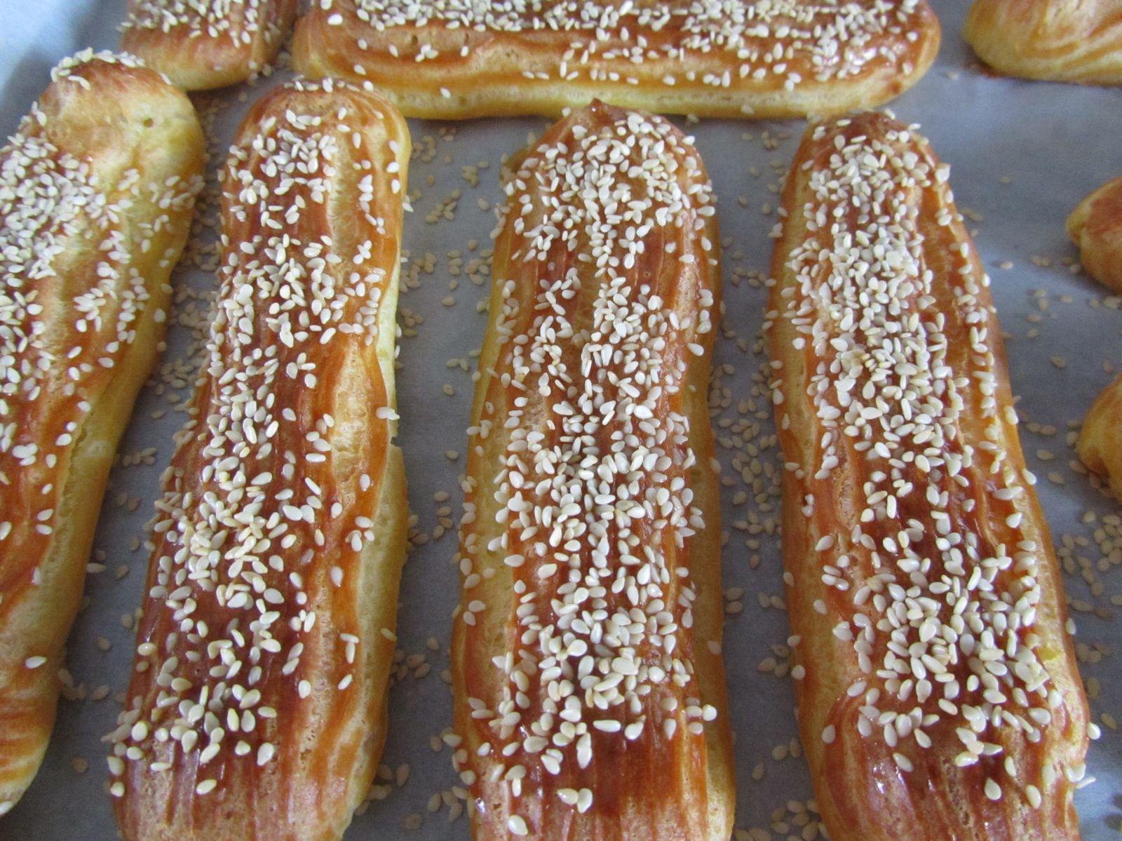 Eclairs... épisode 4 : éclairs au tartare de saumon et pomme verte