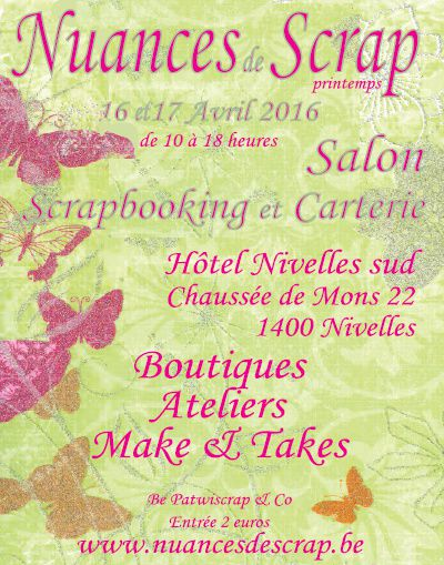 Salon Nuances de scrap à Nivelles