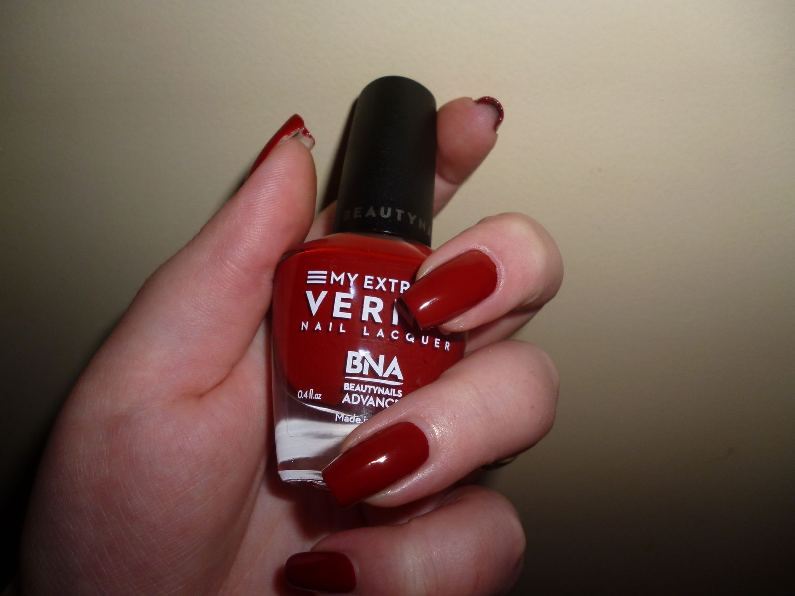 MY EXTREM VERNIS INDI RED  - Beautynails