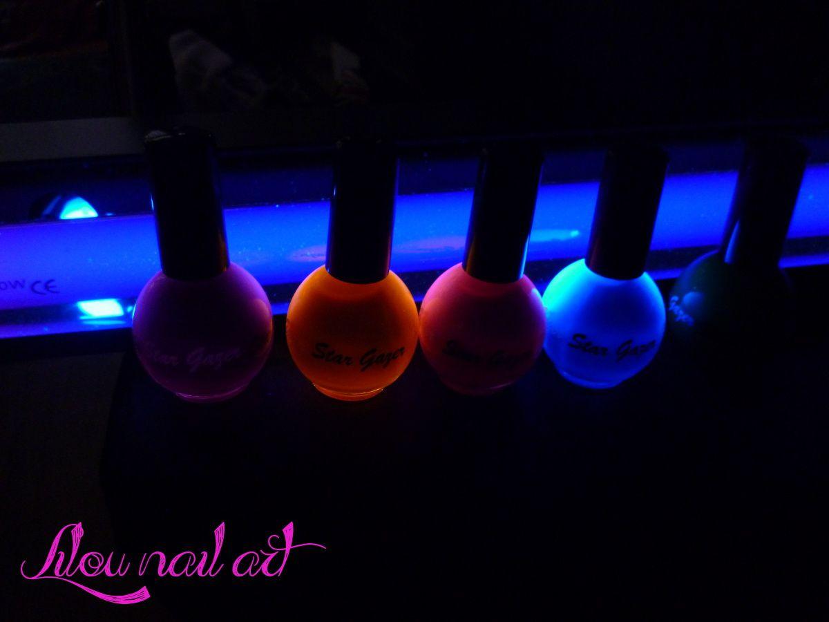 Vernis fluorescents - Bracelet lumineux