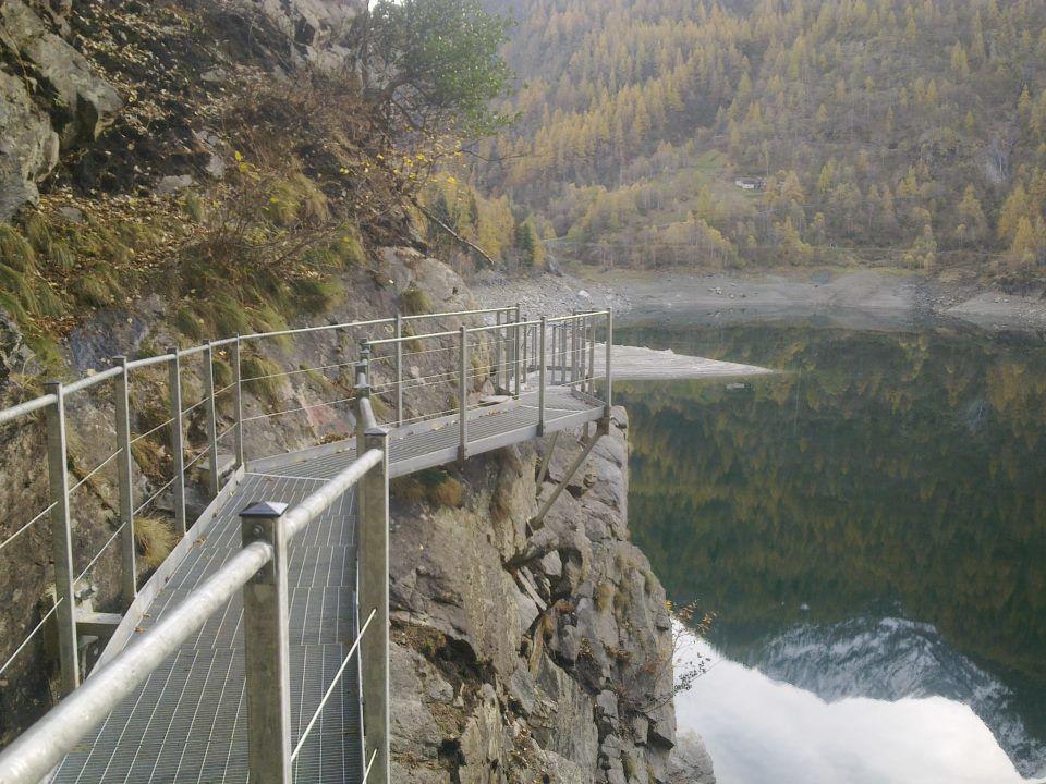 Percorso naturalistico di fruizione del Lago di Antrona (Foto Album)