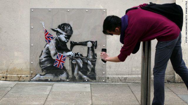 Lo strano caso del graffito scomparso