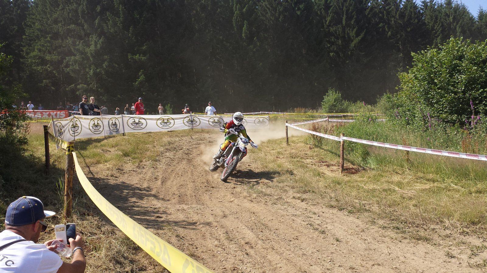 Charles DEGAND au Championnat du Monde d'Enduro à Saint-Hubert