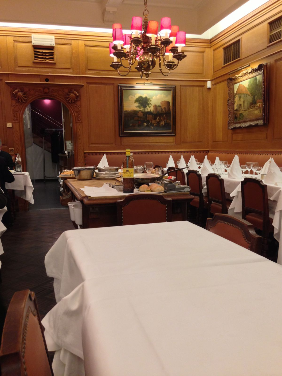 Bruxelles • Les restaurants.