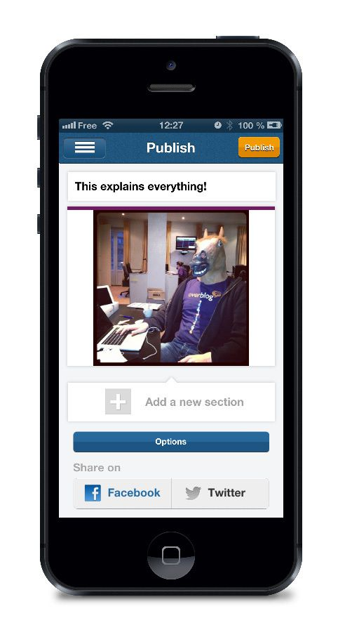 OverBlog iPhone App even better than before