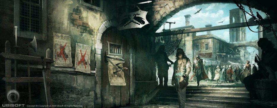 Artwork Assassin'Creed II  (PART 2)