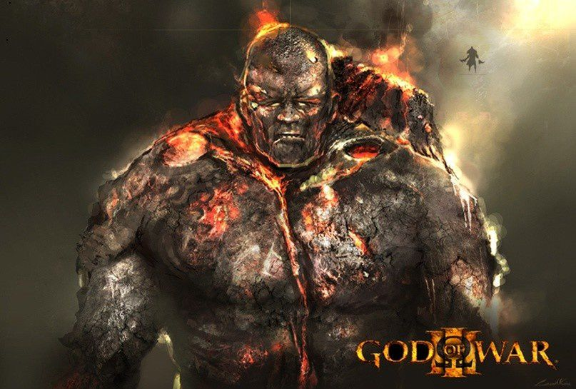 GOD OF WAR 1 &amp&#x3B; 2 &amp&#x3B; 3 Artwork