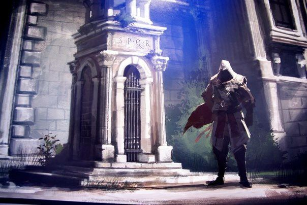 Assassin's Creed BrotherHood (Part 1) ARTWORK