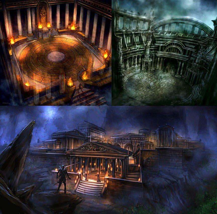 GOD OF WAR 1 &amp&#x3B; 2 &amp&#x3B; 3 Artwork Suite