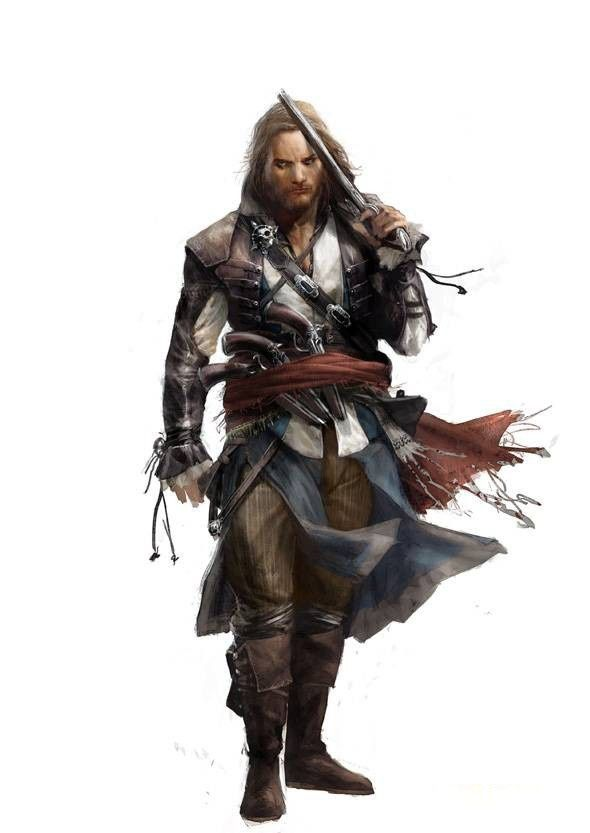 Assassin's Creed 4 Black Flag le Pré-article des Artwork