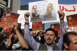 Lebanese protest at US embassy for prisoner's release