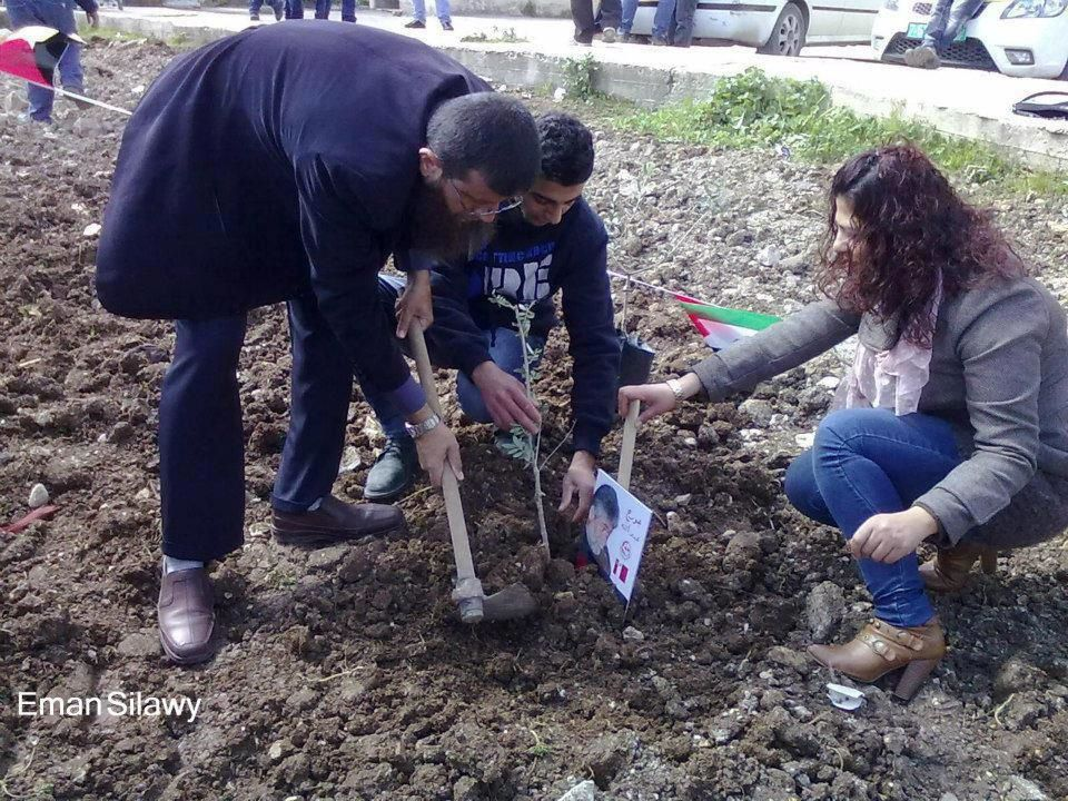 Khader Adnan honours imprisoned Lebanese freedom fighter Georges Ibrahim Abdallah