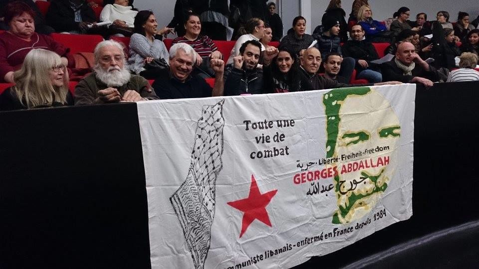 George Abdallah honored in Bagnolet