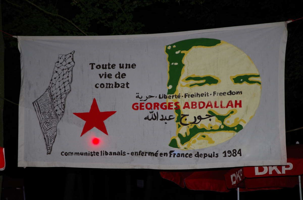 DKP to Holland : Release unconditionally comrade Georges Abdallah