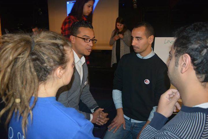 Atelier de travail et de réflexion à Montreuil sur l'engagement des jeunes.