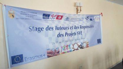 Stage de formation des futurs tuteurs et responsables des projets SERVICE VOLONTAIRE EUROPEEN