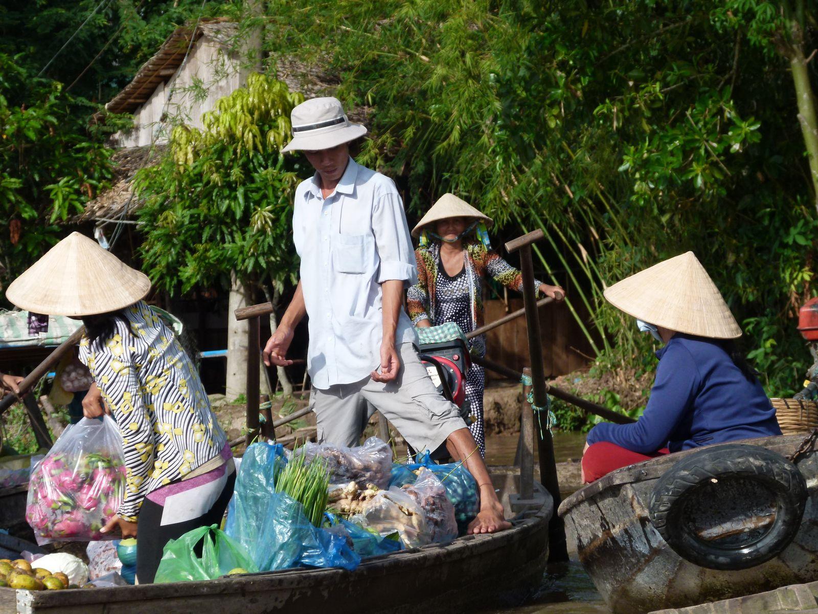 24eme jour… de Can tho à Sai Gon pour retour à la case départ : Hanoi