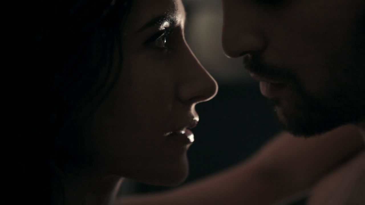 "premiers screens du court métrage ""Love and Life"" de David Lucchini avec Fabienne Carat et Foëd Amara"