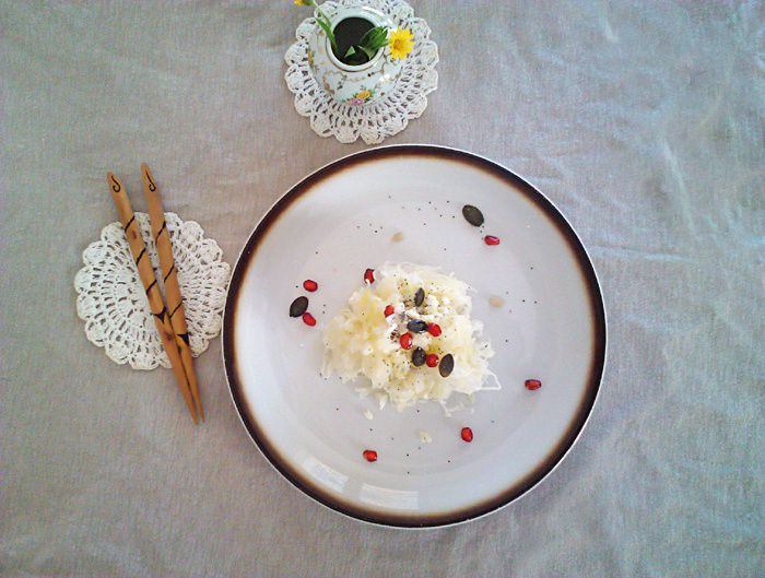 Choucroute cru et acidulée éclaire