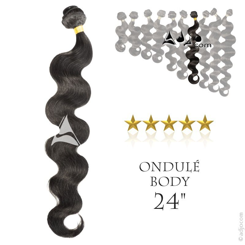 "Tissage Brésilien Ondulé Body 24"""