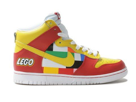 Discount for Nike Dunk Lego High Tops Footwear by Brass Monki in