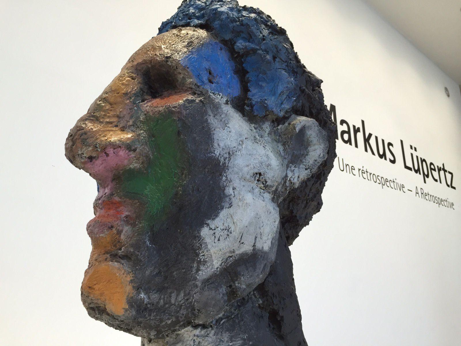 Markus lüpertz au Musée d'Art Moderne de la ville de Paris.