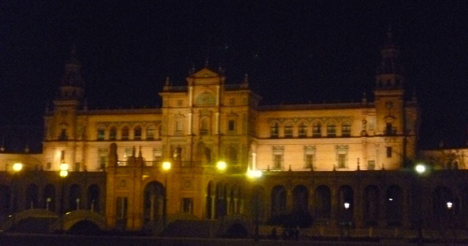 Plaza de Espana - Séville, janvier 2013
