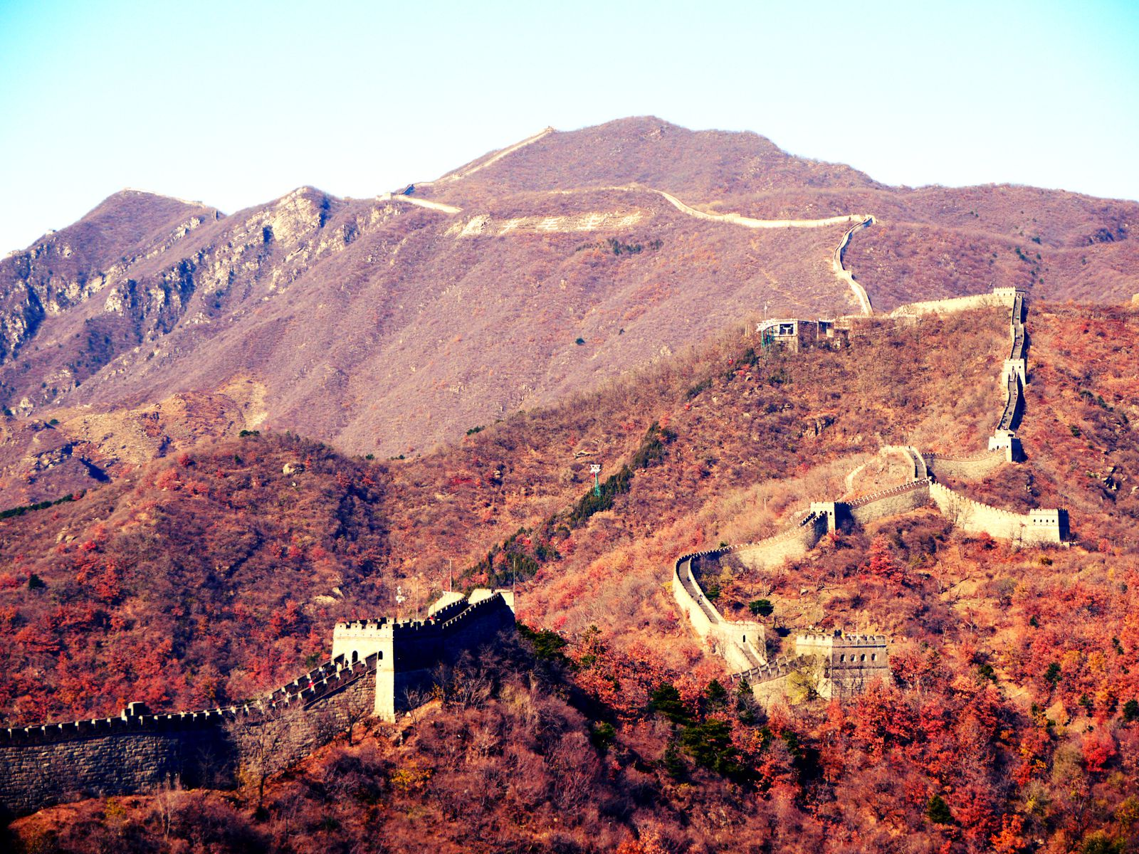 The Great Wall [Mutianyu's section] - China