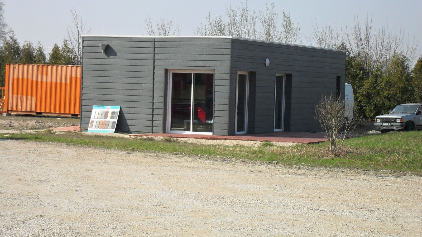 Visite de l 39 usine troyes high cube concept ma maison for Maison container 35