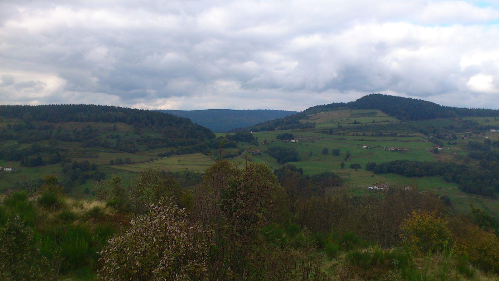Ballade sur les hauteurs de Fresse sur Moselle