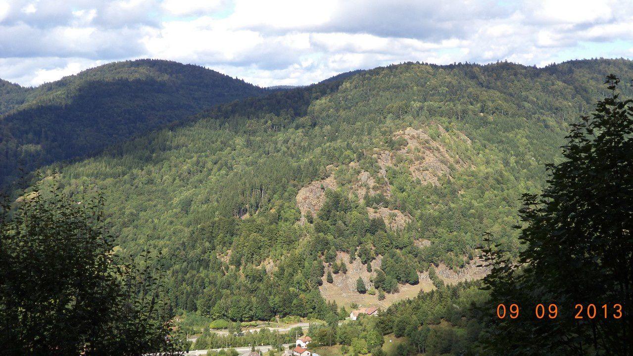 Sur les hauteurs du Col de Bussang
