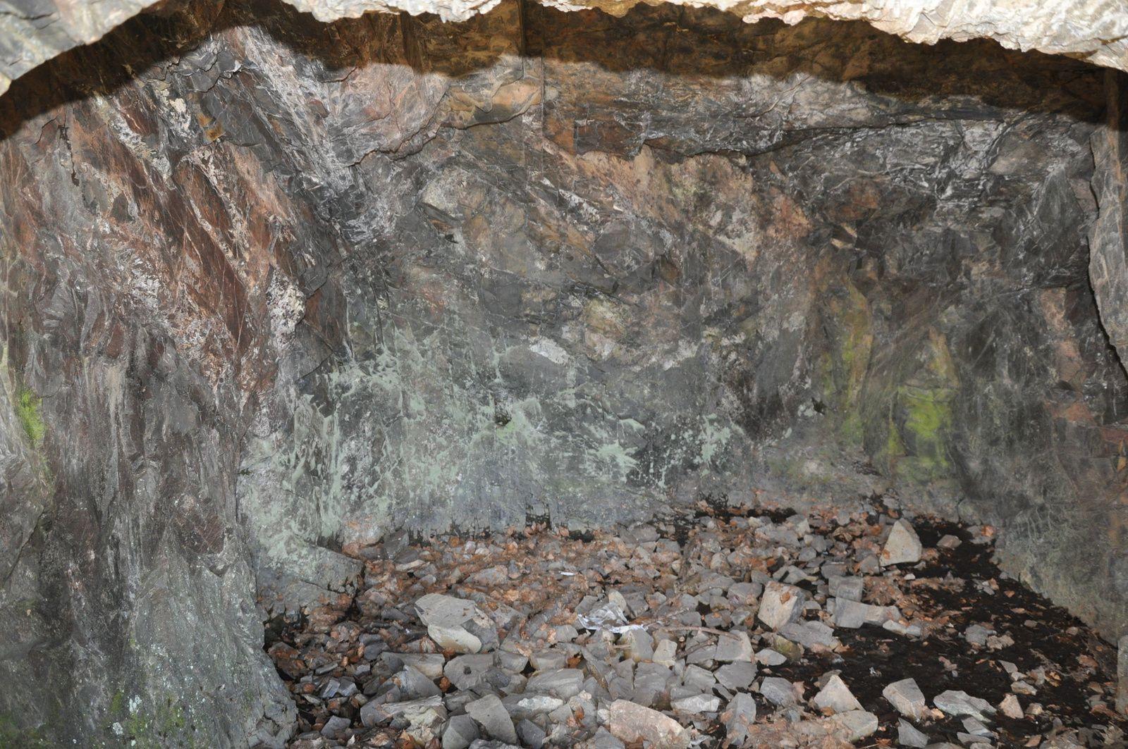 Les grottes.