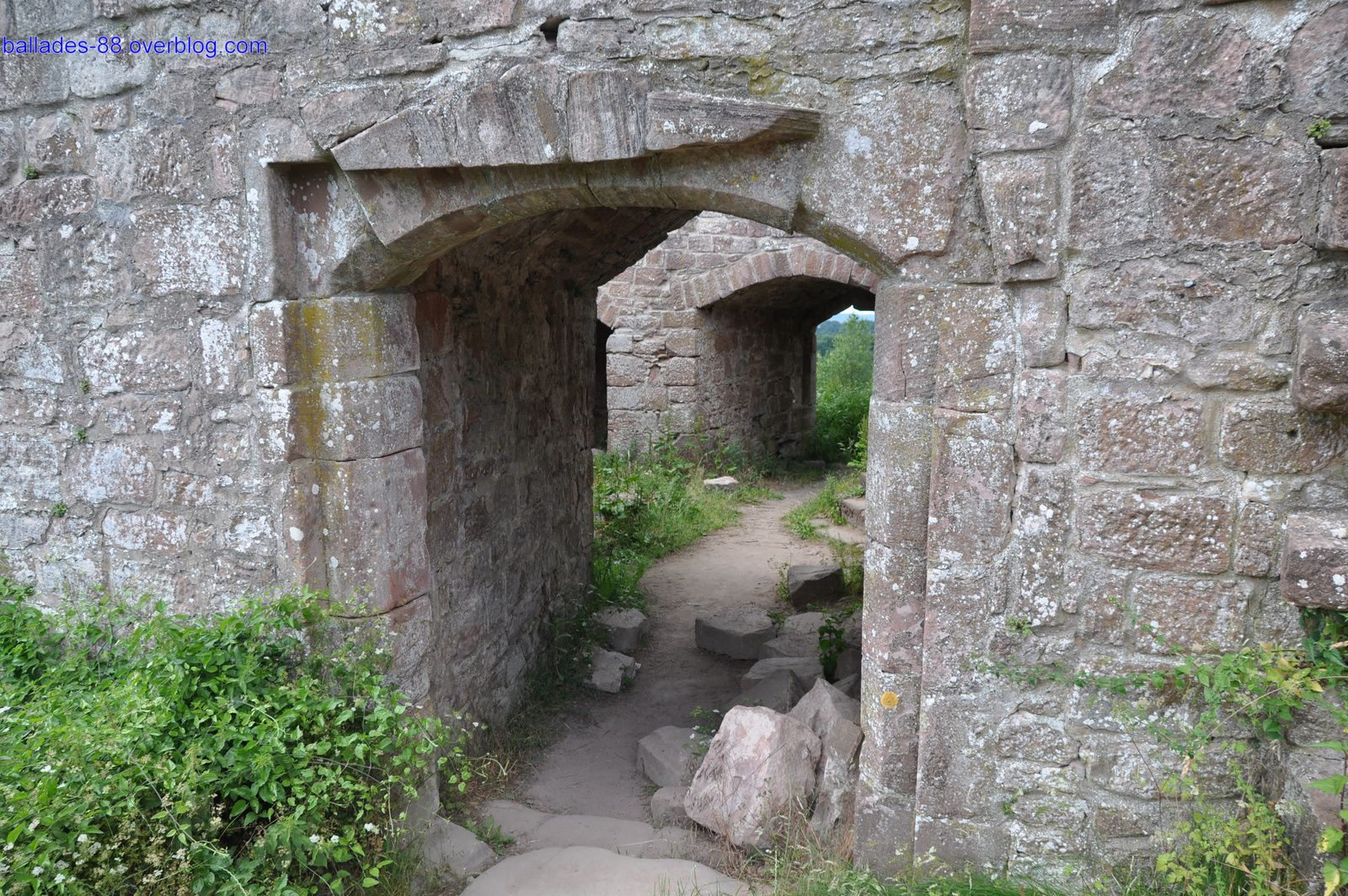 Ruines du Hohenbourg.