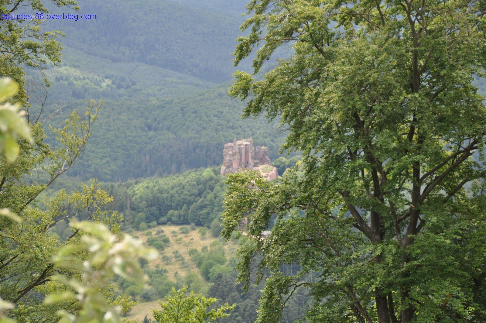 Ruines du Loewenstein.