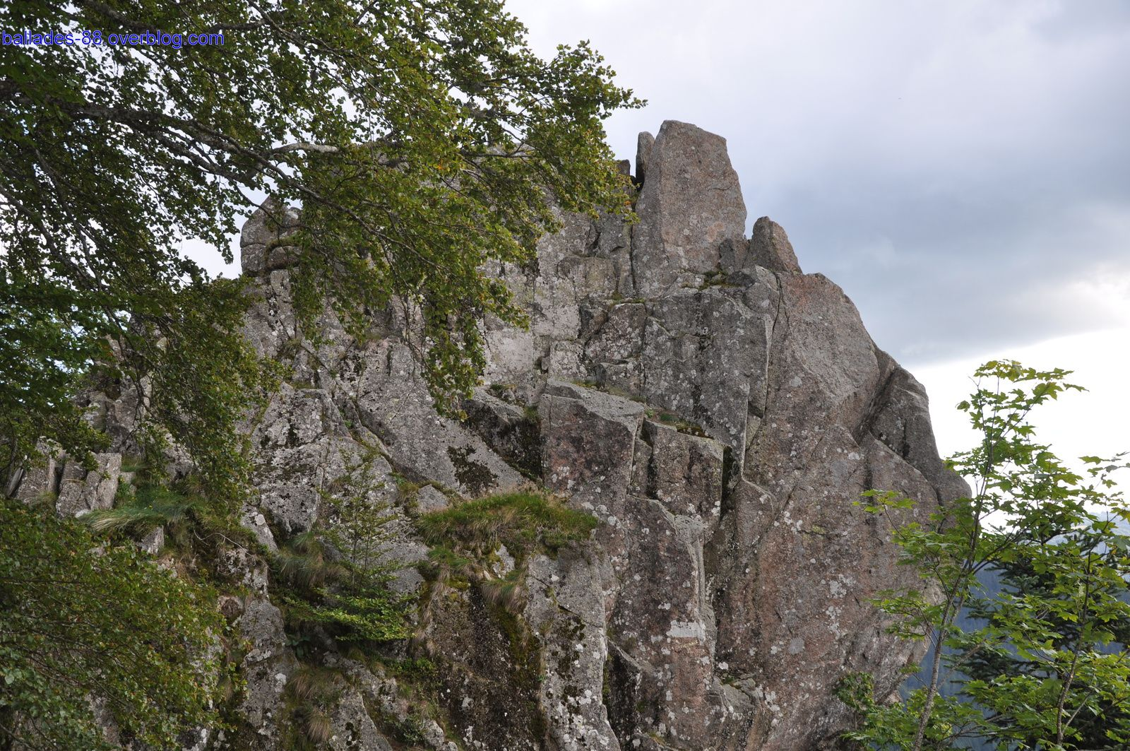 Le rocher du corbeau.